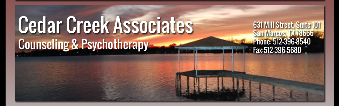 Cedar Creek Associates | Counseling | San Marcos TX